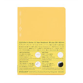 Stalogy 1/2 Year Notebook B6 Yellow
