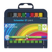 Schneider Link-It Fineliner Assorted Set of 8