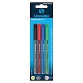 Schneider Vizz Ballpoint Pen Medium Assorted Set of 4