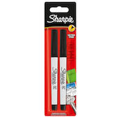 Sharpie Ultra-Fine Permanent Marker Twin Pack