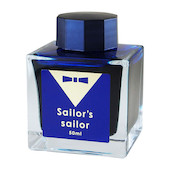Sailor Ink Studio 15 Years Anniversary Ink 50ml Limited Edition Ocean Blue