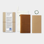 TRAVELER'S COMPANY Traveler's Notebook Leather Camel