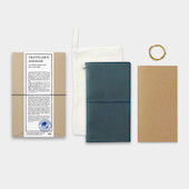 TRAVELER'S COMPANY Traveler's Notebook Leather Blue