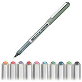 Uni-ball Eye Rollerball Pen UB-157 Assorted Pack of 10