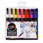 Uni POSCA Marker Pen PC-5M Medium Set of 16 Assorted