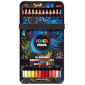 Uni POSCA Pencil Assorted Set of 36