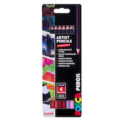 Uni POSCA Pencil Assorted Set of 6 Mystic