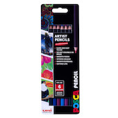 Uni POSCA Pencil Assorted Set of 6 Luxe