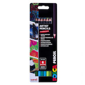 Uni POSCA Pencil Assorted Set of 6 Ocean