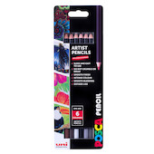 Uni POSCA Pencil Assorted Set of 6 Dusk