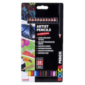 Uni POSCA Pencil Assorted Set of 12 Essential