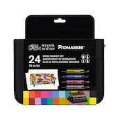 Winsor & Newton Markers Assorted Range Set of 24