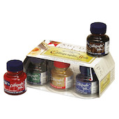 Winsor & Newton Calligraphy Ink 30ml Set of 6 Assorted
