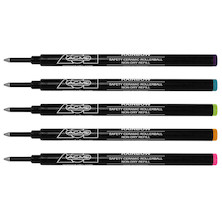 ACME Studio 888 Rollerball Refill Rainbow Set of 5
