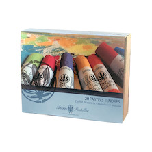 L'Artisan Pastellier Soft Pastels Set of 20
