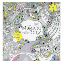 The Magical City Colouring Book