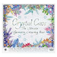 Crystal Cave: The Ultimate Geometry Colouring Book