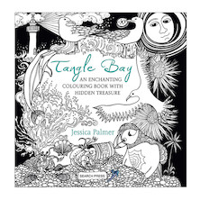 Tangle Bay Adult Colouring Book signed by author - Jessica Palmer