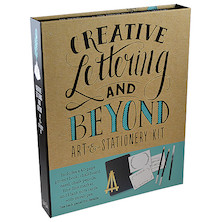 Creative Lettering and Beyond: Art and Stationery Kit