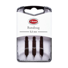 Brause Nibs Set of 3 Bandzug (Angled Square Cut)