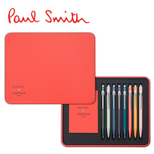 Caran d'Ache 849 Ballpoint Pen Paul Smith Limited Edition Set of 8