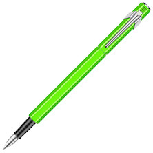 Caran d'Ache 849 Metal Fountain Pen Yellow Green