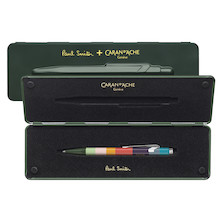 Caran d'Ache 849 Ballpoint Pen Paul Smith Limited Edition Racing Green