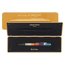 Caran d'Ache 849 Ballpoint Pen Paul Smith Limited Edition Orange
