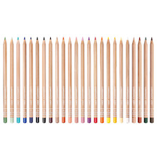 Caran d'Ache Luminance 6901 Professional Permanent Colour Pencil Set of 24 Portrait Colours