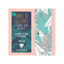 Clairefontaine Adult Colouring Book Birds