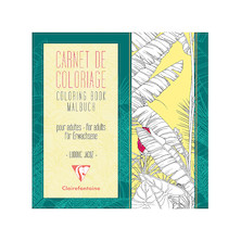 Clairefontaine Advanced Colouring Book Flowers