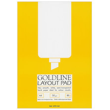 Goldline Layout Pad A4