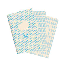 Clairefontaine 1951 Back to Basics Retro Nova Notebook Set of 3 (90 x 140)