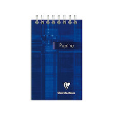 Clairefontaine Pupitre Wirebound Ruled Notebook 75x127 Promotion