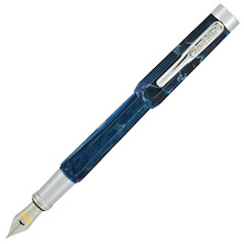 Conklin Nozac Piston Fountain Pen Ohio Blue