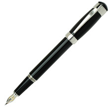 Cleo Skribent Aura Fountain Pen Black