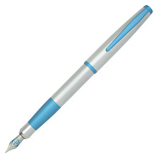 Cleo Skribent Colour Fountain Pen Aqua Blue Matt