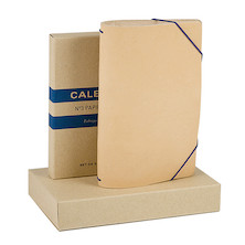 Calepino Portfolio Leather Notebook Cover No.3 Plain