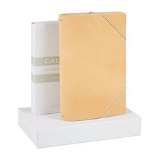 Calepino Portfolio Leather Notebook Cover No.4 Dot Grid