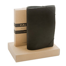 Calepino Portfolio Leather Notebook Cover Weekly Planner
