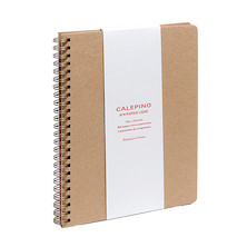 Calepino No.9 Large Spiral Notebook Ruled