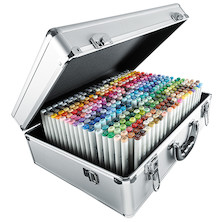 Copic Sketch Marker Metal Case of 358 Colours