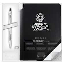 Cross Click Star Wars Special Edition Stormtrooper Rollerball Pen + Jotzone Journal Gift Set
