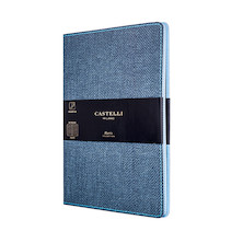 Castelli Harris Notebook 130x210mm Slate Blue