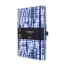 Castelli Shibori Notebook 130x210mm Juta