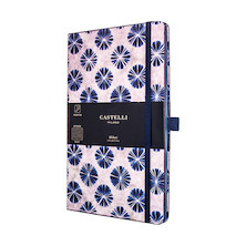 Castelli Shibori Notebook 130x210mm Flowers