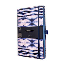 Castelli Shibori Notebook 130x210mm Mist