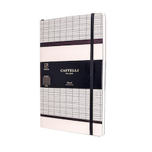 Castelli Tatami Notebook 130x210mm White Milk