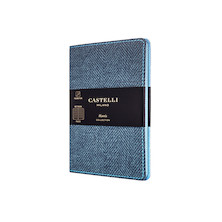 Castelli Harris Pocket Notebook Slate Blue