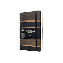Castelli Tatami Pocket Notebook Dark Espresso